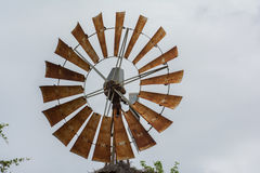 风车的上面 库存照片