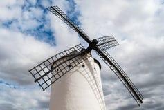 风车的刀片 免版税图库摄影