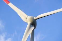 风车的涡轮 免版税库存照片
