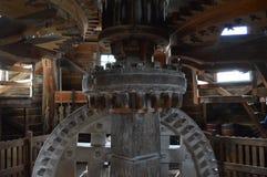 风车的齿轮 免版税库存图片
