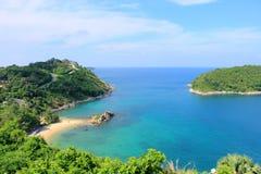 风车观点 普吉岛泰国 图库摄影