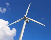 风车,发电器 免版税库存照片