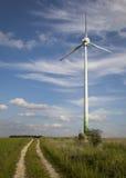 风车,可选择能源 免版税库存图片