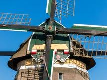 风车,荷兰细节  免版税图库摄影