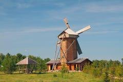 风车,面包博物馆  Bulgar,俄罗斯 库存照片
