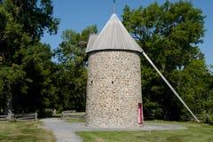 风车- Ile Perrot -加拿大 库存图片