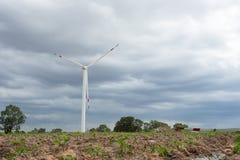 风轮发电机 库存照片