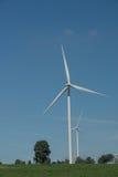 风轮机供选择的可再造能源泰国 免版税库存照片