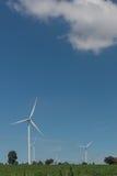 风轮机供选择的可再造能源泰国 免版税图库摄影