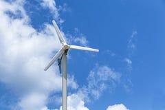 风轮机发电 免版税图库摄影