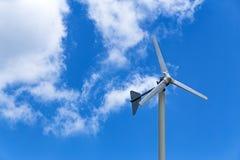 风轮机发电 库存图片