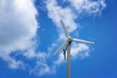 风轮机发电 库存照片