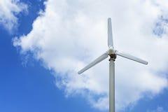 风轮机发电 免版税库存图片