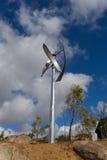 风轮机在圣地亚哥 免版税图库摄影