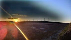 风轮机在康沃尔郡, 2 图库摄影