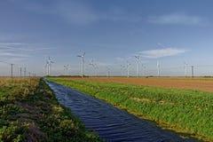 风轮机,英国 免版税库存照片