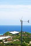 风轮机,酸值Larn,芭达亚,春武里市,泰国 图库摄影