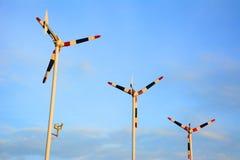 风轮机 免版税图库摄影