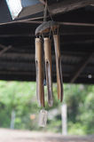 风铃做了†‹â€ ‹竹子 免版税库存照片
