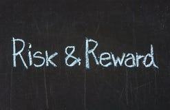风险和奖励 免版税库存照片