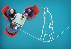 风险管理保险安全不平稳的概念 库存图片