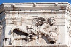 风雅典希腊的塔 库存图片