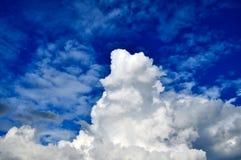 风雨如磐云彩的天空 库存图片