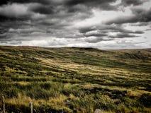 风雨如磐停泊 图库摄影