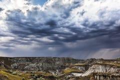 风雨如磐的云彩 库存图片