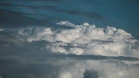 风雨如磐的云彩timelapse 股票视频