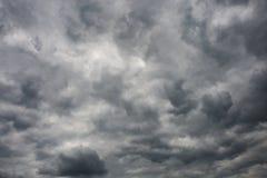 风雨如磐的天空 免版税图库摄影
