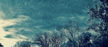风雨如磐的天空 库存照片