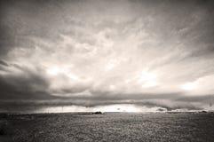 风雨如磐的横向 免版税库存照片