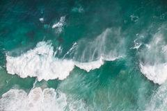 风雨如磐的水 免版税图库摄影