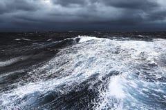 风雨如磐的水 免版税库存图片