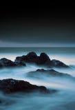 风雨如磐的海景 库存图片