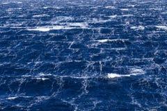 风雨如磐的海 图库摄影