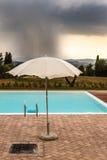 风雨如磐的水池 免版税库存图片
