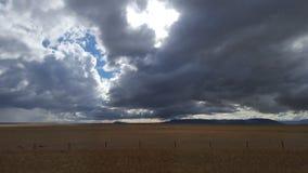 风雨如磐 库存照片