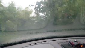 风暴在莫斯科 库存照片