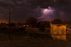 风暴在过程中 免版税库存图片