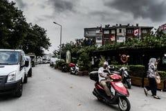 风暴在马尔马拉地区-土耳其 免版税图库摄影