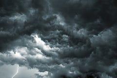 风暴天空 免版税库存图片
