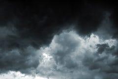 风暴天空 库存照片