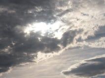 风暴天空 免版税库存照片