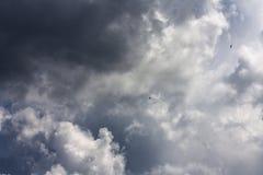 风暴天空 图库摄影