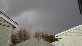 风暴日 库存图片