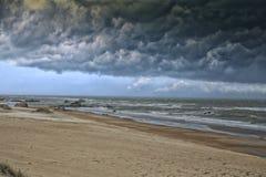 风暴来 免版税库存图片