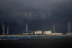 风暴的工厂 免版税库存图片