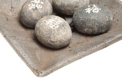 风水石头 免版税库存图片